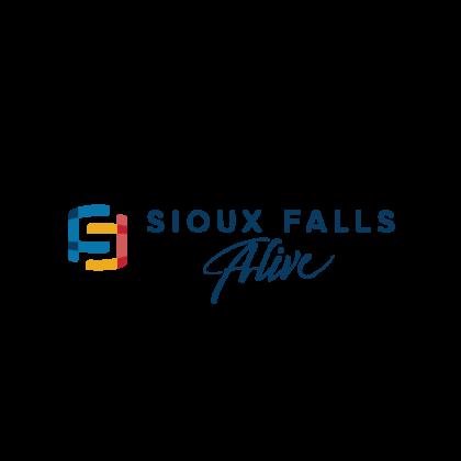 Sioux Falls Alive2020 Horizontal City logo